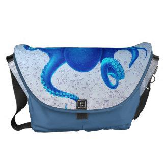 Blue Octopus Commuter Bag