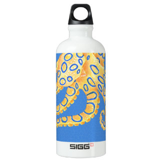 Blue Octopus Stained Glass SIGG Traveller 0.6L Water Bottle