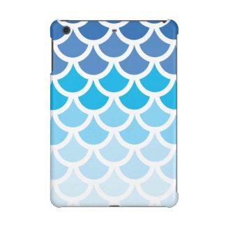 Blue Ombre Mermaid Scales iPad Mini Retina Covers