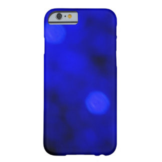 Blue on Blue Camouflage Pattern Barely There iPhone 6 Case