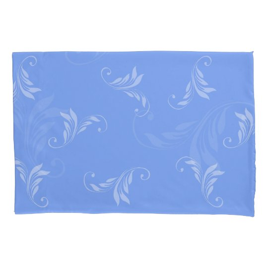 Blue on Blue Pillowcase