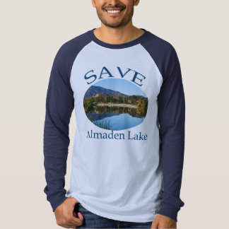 Blue on Blue Raglan with website on back T-Shirt