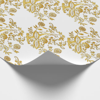 Blue Onion Style Element Your Background Color Wrapping Paper