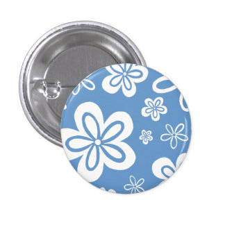 Blue Oopsy-Daisy Pin