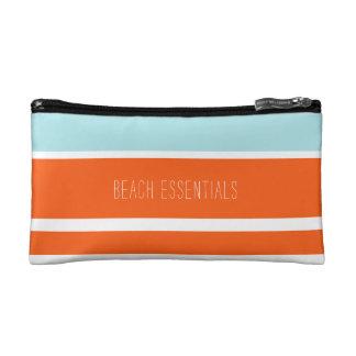 Blue & Orange Beach Essentials Pouch