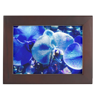 Blue orchid keepsake Box