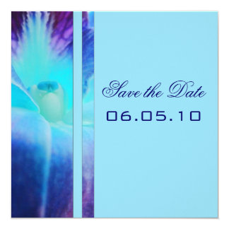 Blue Orchid Save the Date Announcement