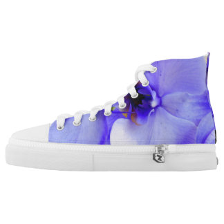 Blue Orchids High Tops