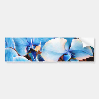 Blue Orchids of Love_ Bumper Stickers