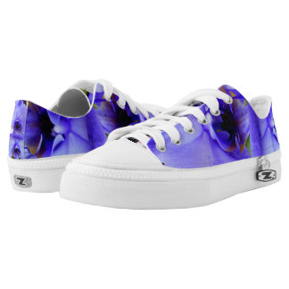 Blue Orchids Printed Shoes