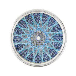 Blue Orient Lapel Pin