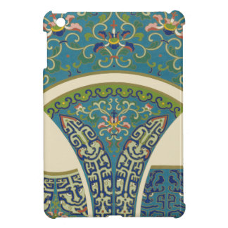 Blue Oriental Designs with Smiling Faces Case For The iPad Mini