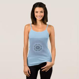 Blue original t-shirt with Mandala