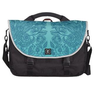 Blue Ornaments Commuter Bags