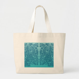 Blue Ornaments Large Tote Bag