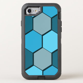 Blue otter box iPhone