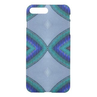 Blue Oval Design iPhone 7 Plus Case