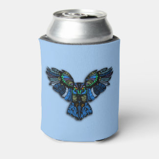 Blue Owl Can Cooler