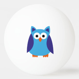 Blue owl cartoon