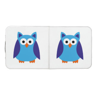 Blue owl cartoon beer pong table