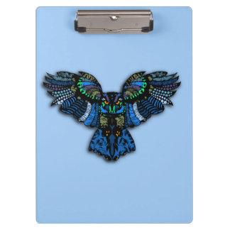 Blue Owl Clipboard