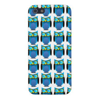 Blue Owl Hoot Iphone 5 Case
