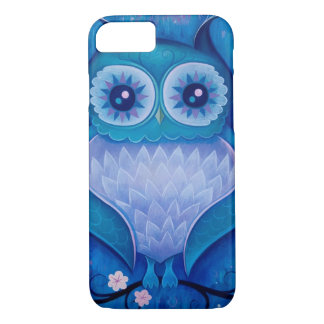 blue owl iPhone 8/7 case