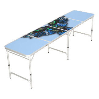 Blue Owl Pong Table