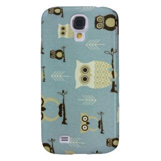 Blue Owls Samsung Phone Case
