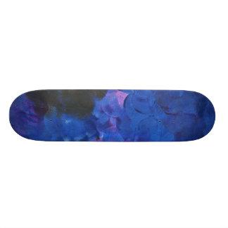 Blue Paint Skateboard Deck