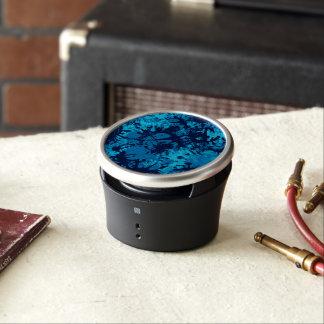 Blue Paint Splatter Bluetooth Speaker