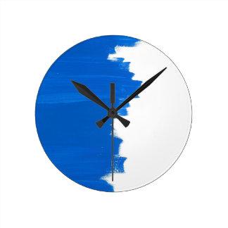 Blue paint texture/blue painting clocks