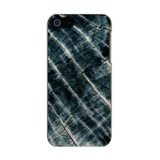 Blue Painted Wood Incipio Feather® Shine iPhone 5 Case