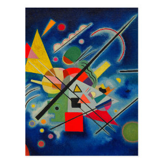Blue Painting by Wassily Kandinsky Postcard