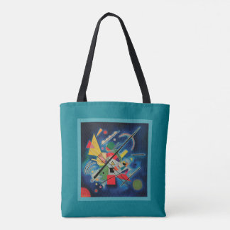 Blue Painting by Wassily Kandinsky Tote Bag