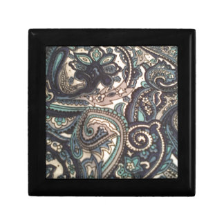 Blue Paisley All Over Gift Box