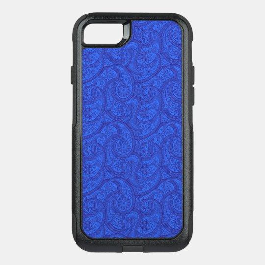 Blue Paisley OtterBox Commuter iPhone 8/7 Case