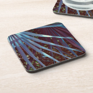 Blue Palmetto Dream Coaster