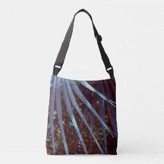 Blue Palmetto Dream Crossbody Bag