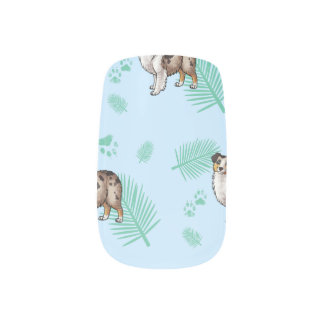 Blue Palms Aussie Minx Nail Art