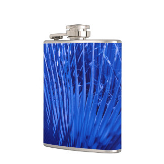 Blue Palms Hip Flask