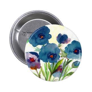 Blue pansies pins