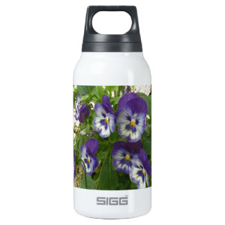 Blue Pansy 0.3 Litre Insulated SIGG Thermos Water Bottle