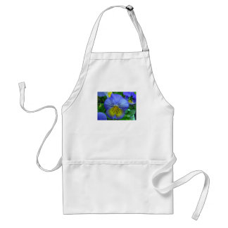 Blue Pansy Aprons