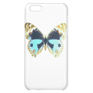 Blue Pansy Butterfly iPhone 5C Cases
