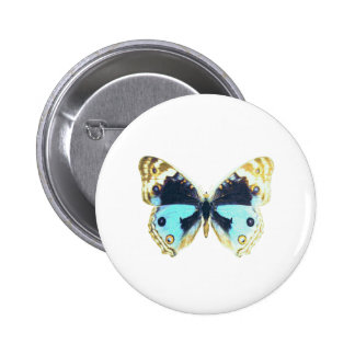 Blue Pansy Butterfly Pins