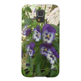 Blue Pansy Galaxy S5 Cover