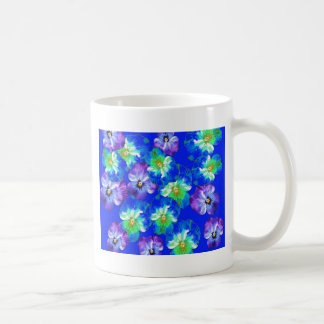 Blue Pansy Garden Gifts by Sharles Coffee Mug