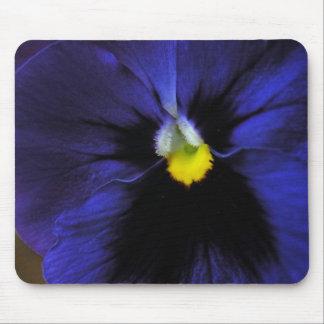 Blue Pansy Mousepad