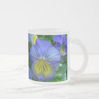 Blue Pansy Mug